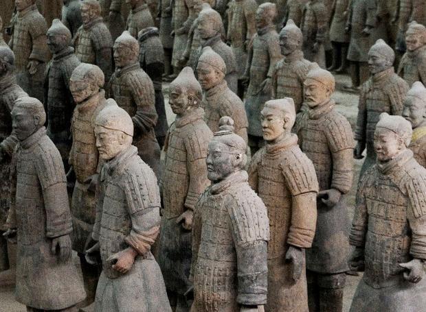 Αρχαίοι Ελληνες πίσω από τον Πήλινο Στρατό της Κίνας