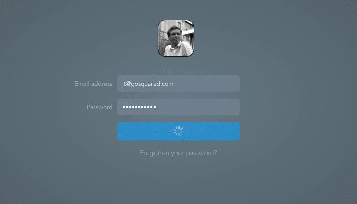 Redesigning the Login Screen –GoSquared Blog