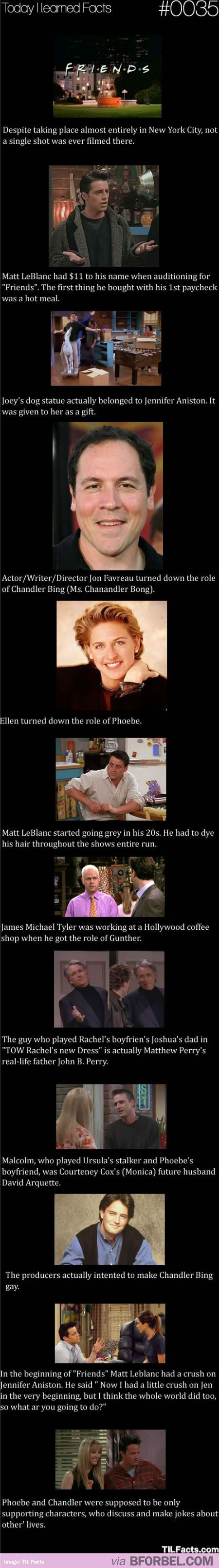 12 Facts About Friends. Love friends, long live the boxset!!