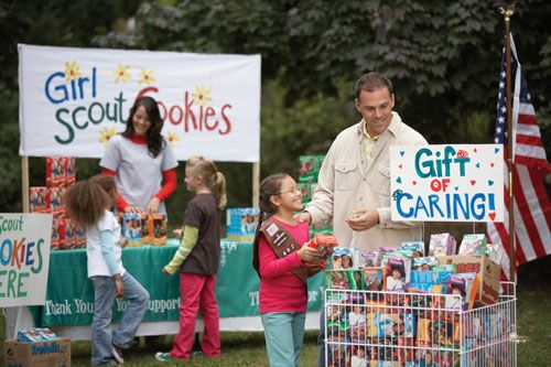 Girl Scout Booth Sale Ideas - Bing Images