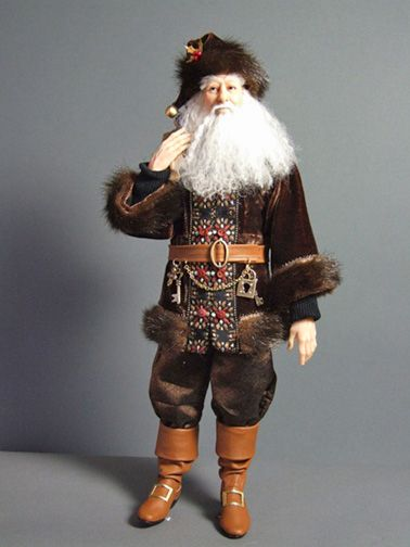 Santa Art Doll