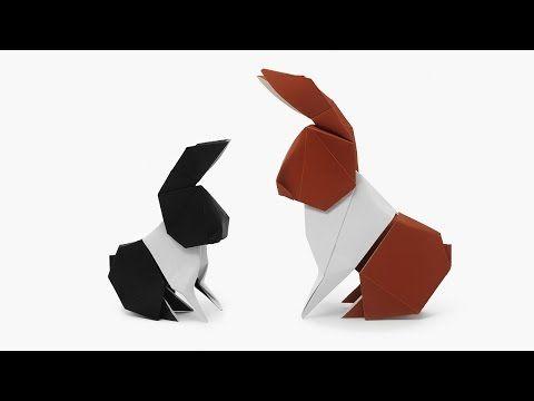Origami Dollar Bill Hare (Barth Dunkan) - YouTube