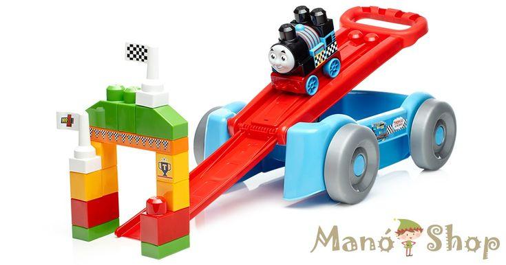 Mega Bloks Thomas és barátai húzós verseny utánfutó (DXH57)