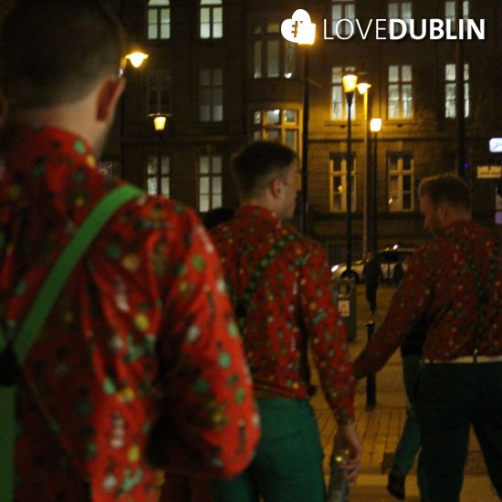 #Festive #fashion was out in force! #LoveDublin