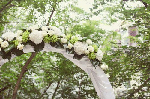 Een trouwboog wordt veel gebruikt als versiering voor de ceremonie, maar ook voor de fotoshoot, ingang van een gebouw of ruimte of als versiering van een oprit. Trouwbogen worden vaak aangekleed met bloemen, klimop, stof of kristallen slingers. Maar een boogkan natuurlijk ook versierd worden met originele decoraties zoals gevouwen kraanvogels, linten, pom poms, honeycombs, …