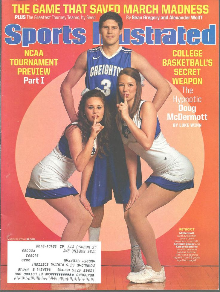 Doug McDermott Creighton Basketball Sports Illustrated Magazine, Mar 17, 2014