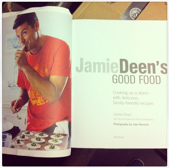 Astronaut #SeeSAW shirt made it in Jamie Deen's new cookbook #goodfood