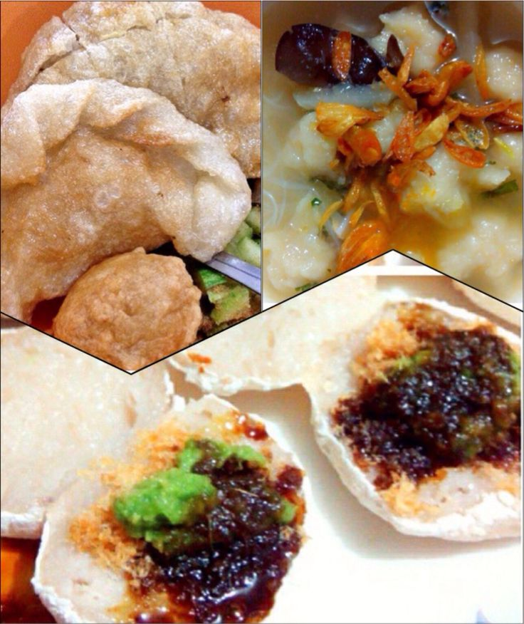 Pempek Dan tekwan (makanan palembang) --------------------------------- Fish cake and fish ball  (Traditional food of south sumatera , IND)