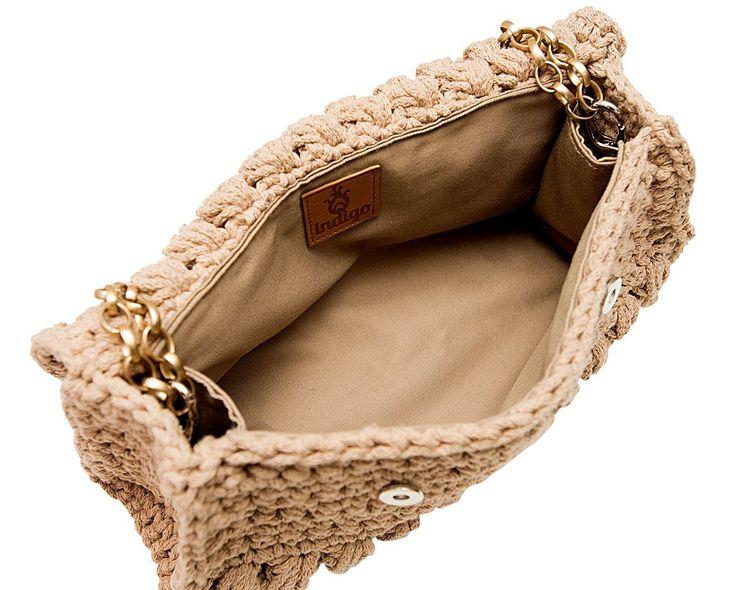 details- crochet bag