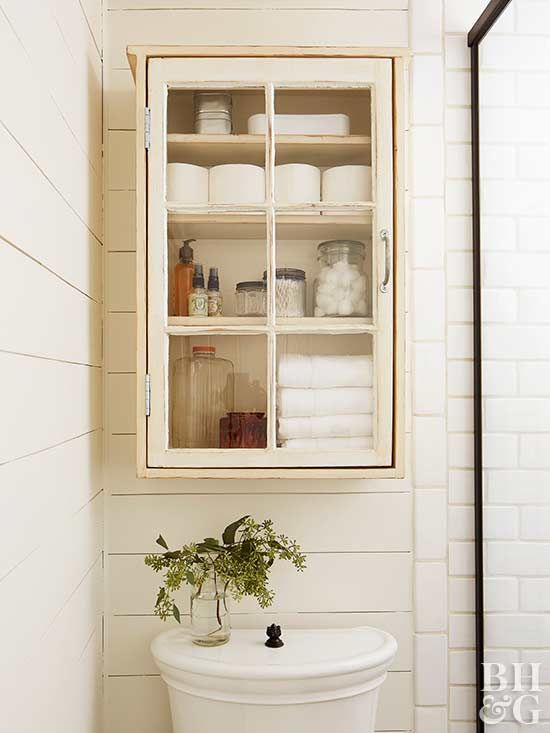 13 genius over the toilet storage solutions