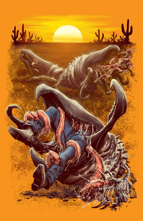 Tremors - Jeff Zornow (I don't know why I loved this movie so much growing up.)