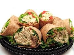 Biggest Loser Recipes - Biggest Loser Veggie Tuna Wraps