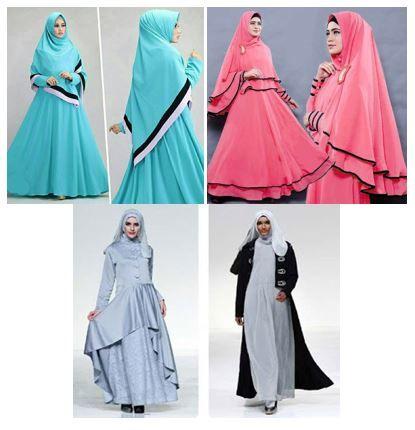 Dropship Baju Gamis Wanita di Tanah Abang - Baju Muslim Tanah Abang