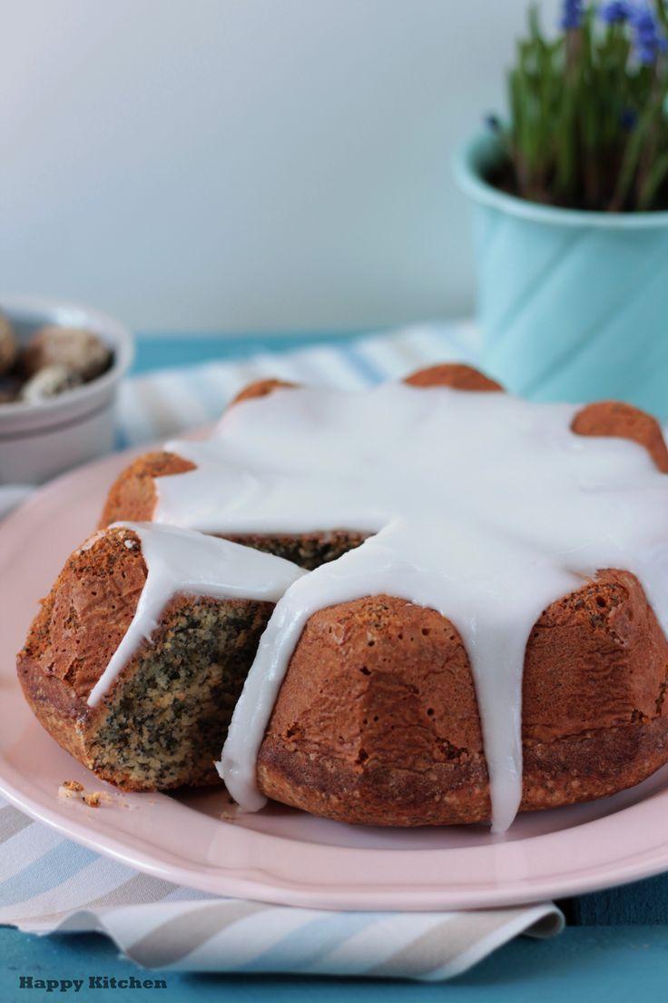 Easter poppy seed cake
