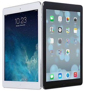 "NEW Apple IPad Air 9.7"" Retina Display A7 16GB IOS Wi-Fi White/Black"