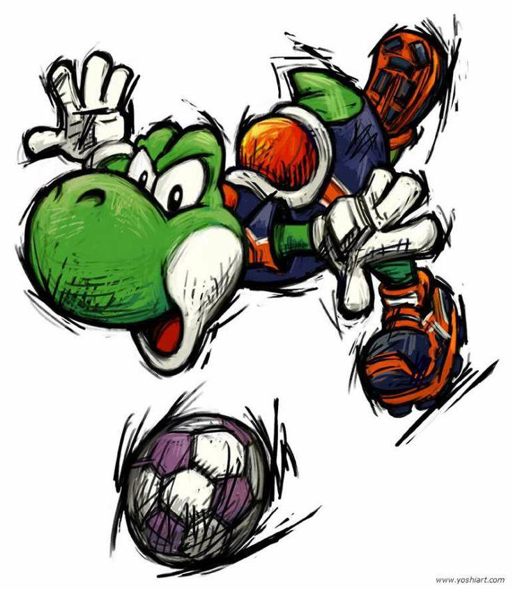 Games: Mario Strikers Charged – O futebol apelão da Nintendo PIPOCA COM BACON #PipocaComBacon super-mario-strikers-yoshi