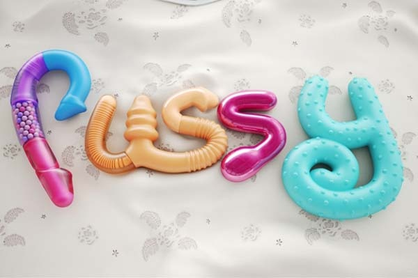 3D Typography Artworks by Chris LaBrooy