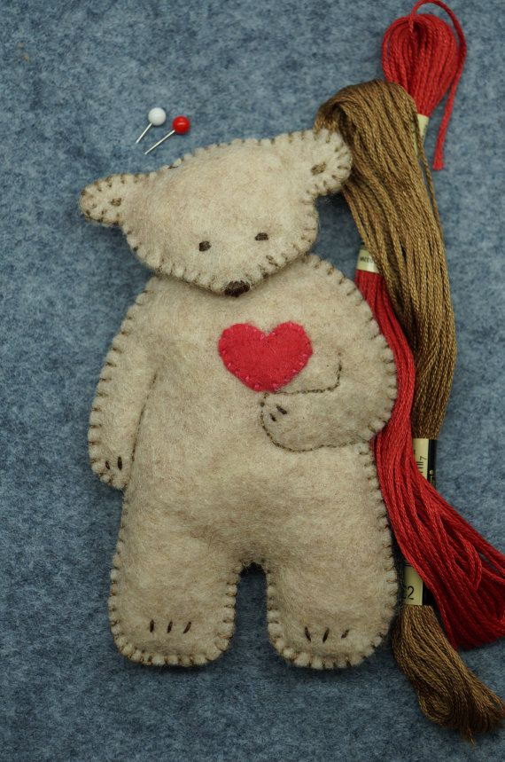 Bears Bears Bears pdf instant download pattern by RustyRoseFolkArt