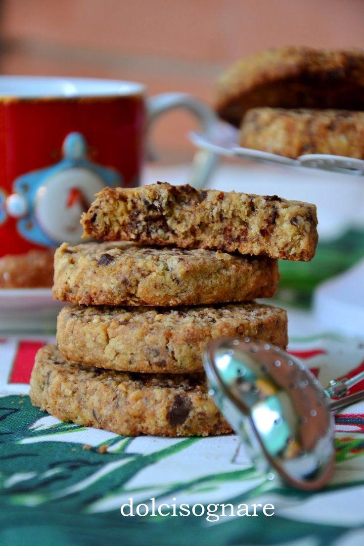 "DOLCISOGNARE: ""Oatmeal biscuits"", biscotti ai fiocchi d'avena"