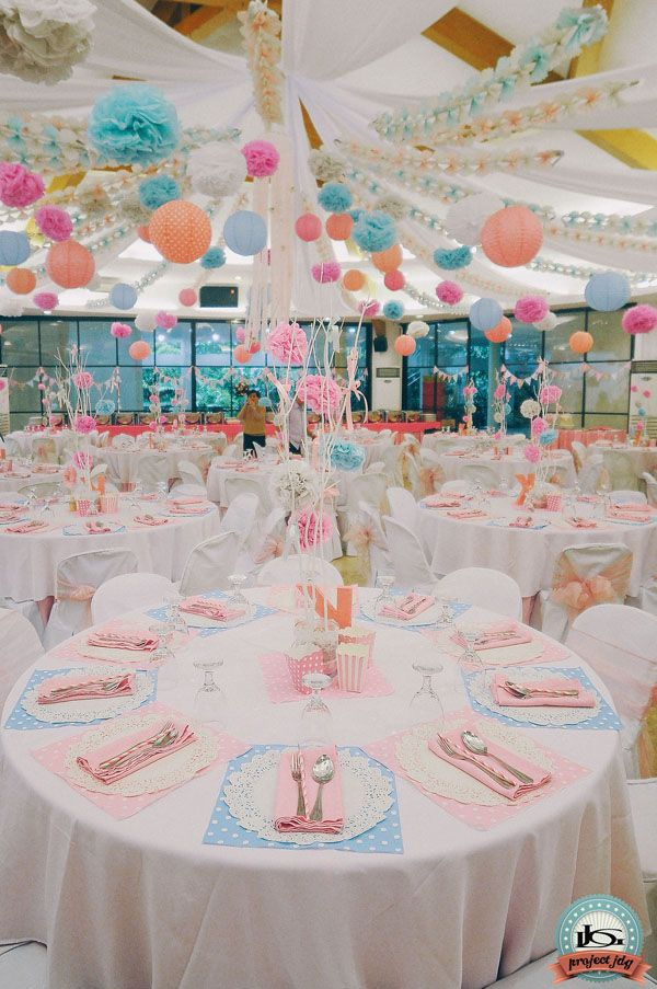 A Shabby Chic 1st Birthday Party