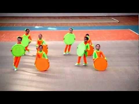 Танец Барбарики на городском конкурсе - YouTube