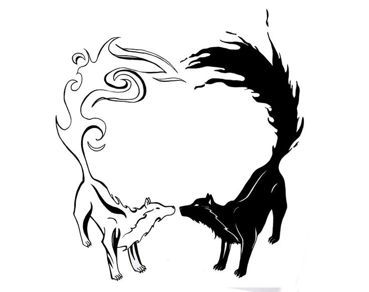 1a1f02618 Explore Opposites On DeviantArt · Yin Yang Tiger And Wolf Tribal Design By  Wildspiritwolf: 1000+ Images About YIN YANG