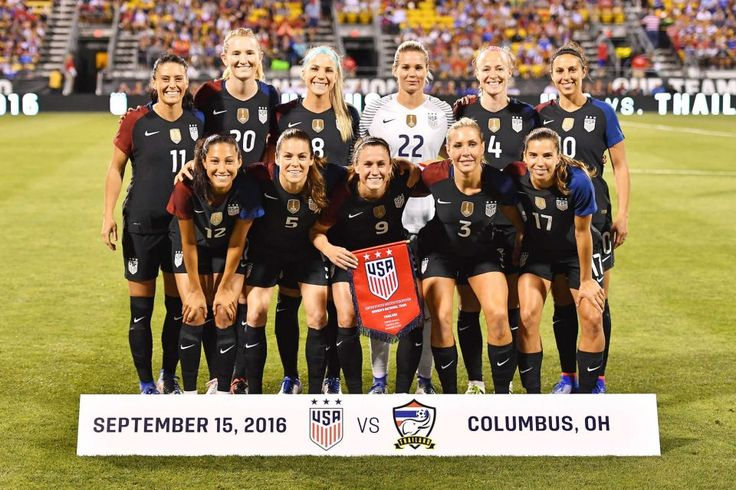 Starting XI vs.Thailand, Sept. 15, 2016 in Columbus, Ohio. (Jamie Sabau/Getty Images)