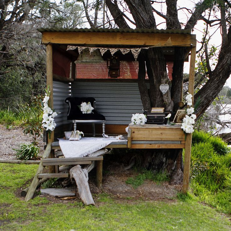 Gatsby Inspired Cubby Styling at Blue Bayou,Quindalup WA www.capeoflove.com