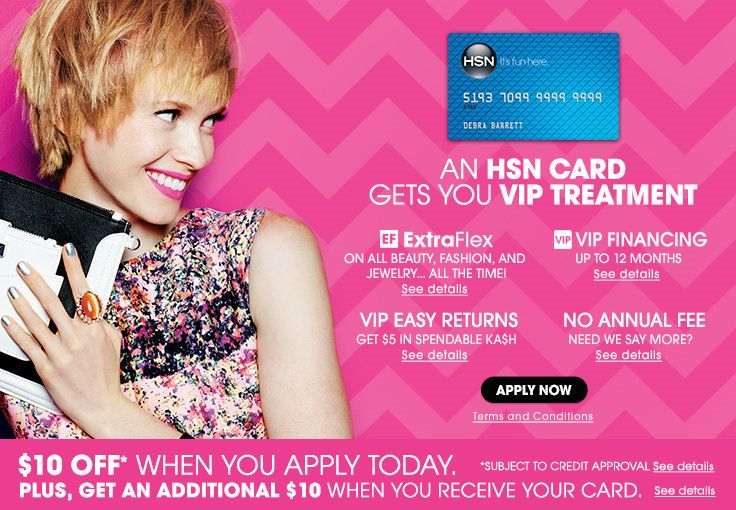 HSN Credit Card - Apply Today & Earn Exclusive Offers | HSN