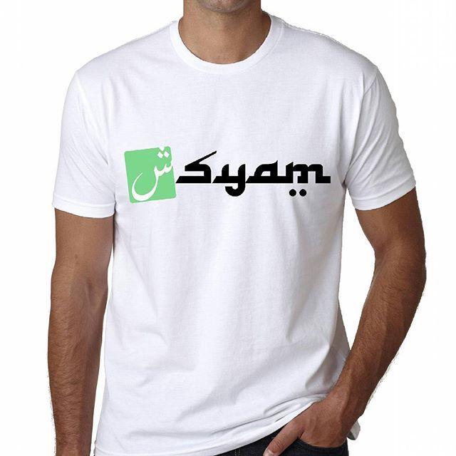 Syam Muslim Apparel  Bahan : Cotton Combath  Sablon : Plastisol  Price : 95. 000  Menerima agen dan partai besar.  #kaos #kaosmuslim #kaospolos #kaoscewek #kaoscustome #bikinkaos #tshirtmuslim #tshirtdakwah #tshirt