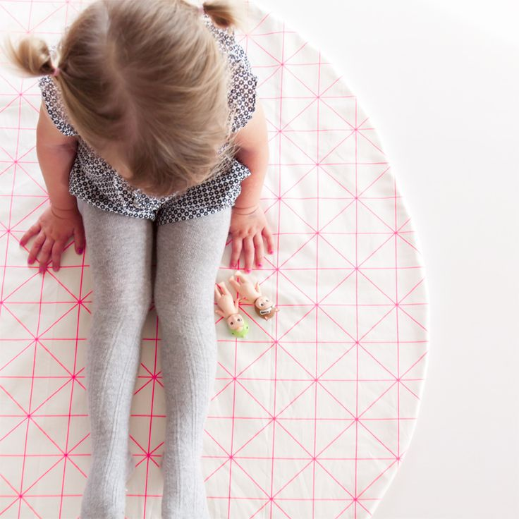 The neon grid pink play mat is an absolute standout design. Can get it in standard square or 'O' Style