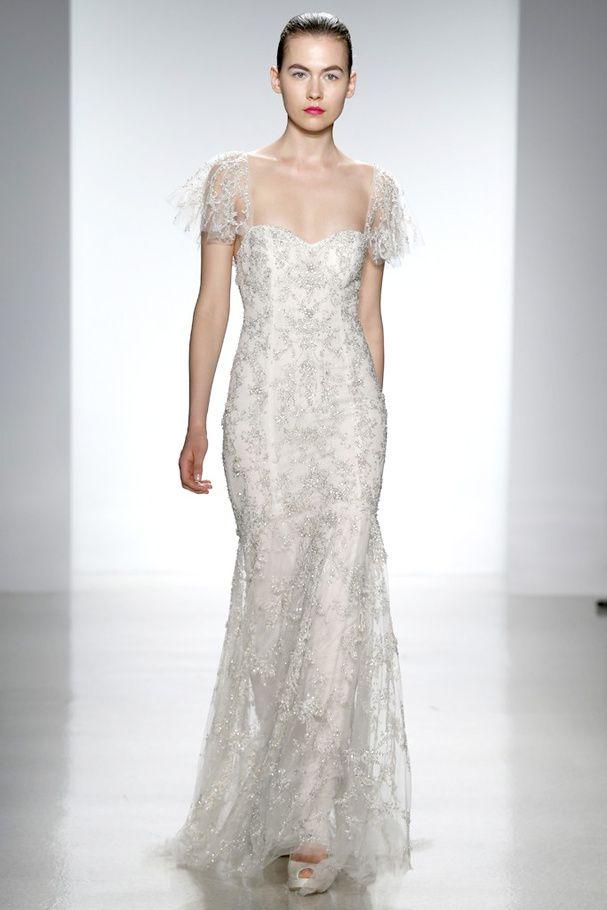 Bridal Week 2014 : la robe de mariée du défilé Kenneth Pool