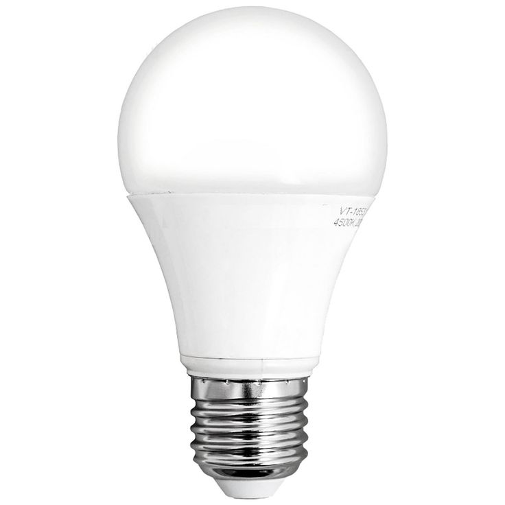 Lampadina LED 12W A60E27 Bianco adatta alla sostituzione delle tradizionali lampadinea incandescenza. Ottima resa cromatica, luce brillante e omogenea.