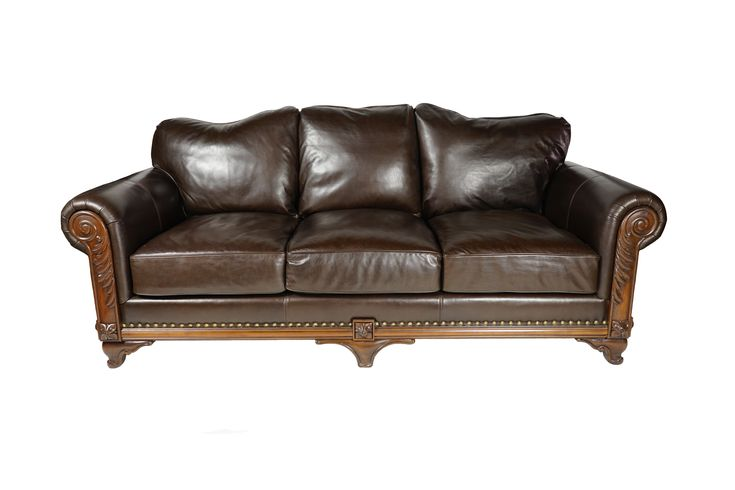 Buy Venetian Hand Carved Sofa: il Erice by Villa de Romani - Made-to-Order designer Furniture from Dering Hall's collection of Rustic / Folk Traditional Sofas & Sectionals.