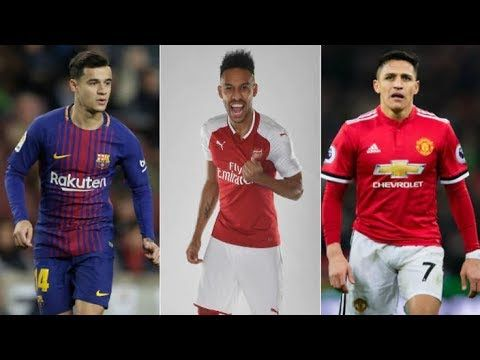 January Transfers: Sanchez, Aubameyang, Mkhitaryan, Coutinho & More