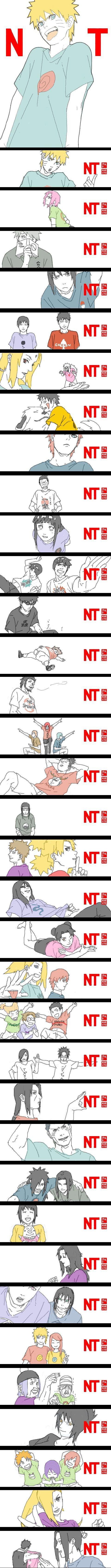 Tags: Anime, NARUTO, Haruno Sakura, Uzumaki Naruto, Uchiha Sasuke, Sai, Rock Lee