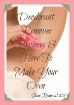 Guide To Removing Deodorant Stains