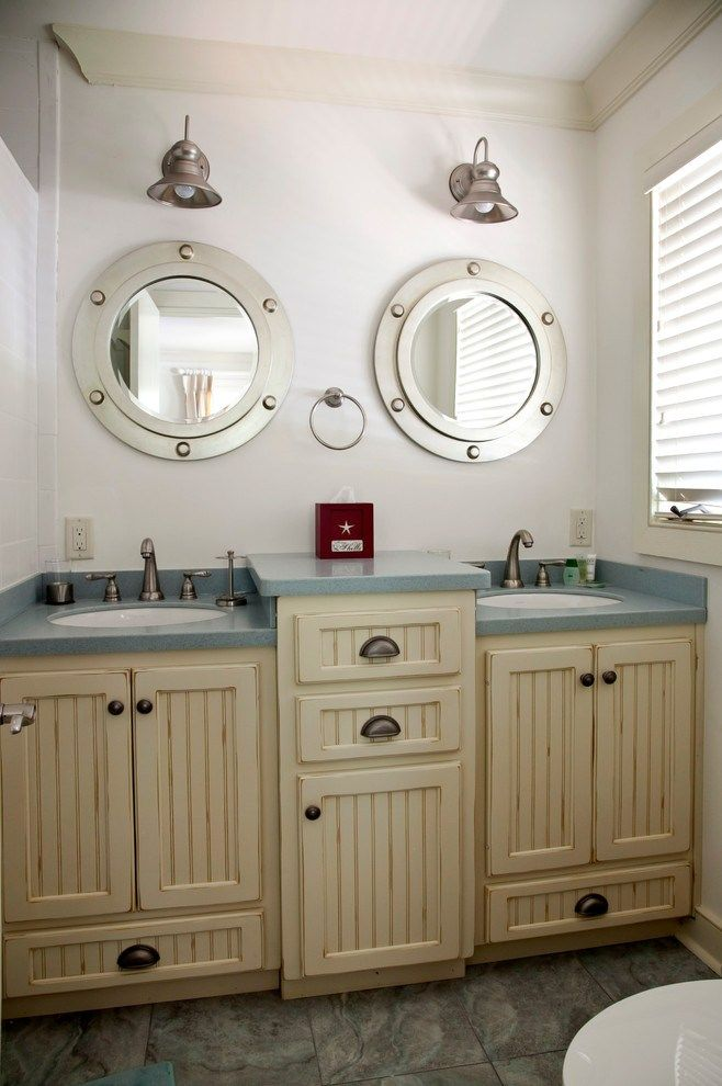 Coastal Style Bath Lighting Beach Themed Bathroom How To Create
