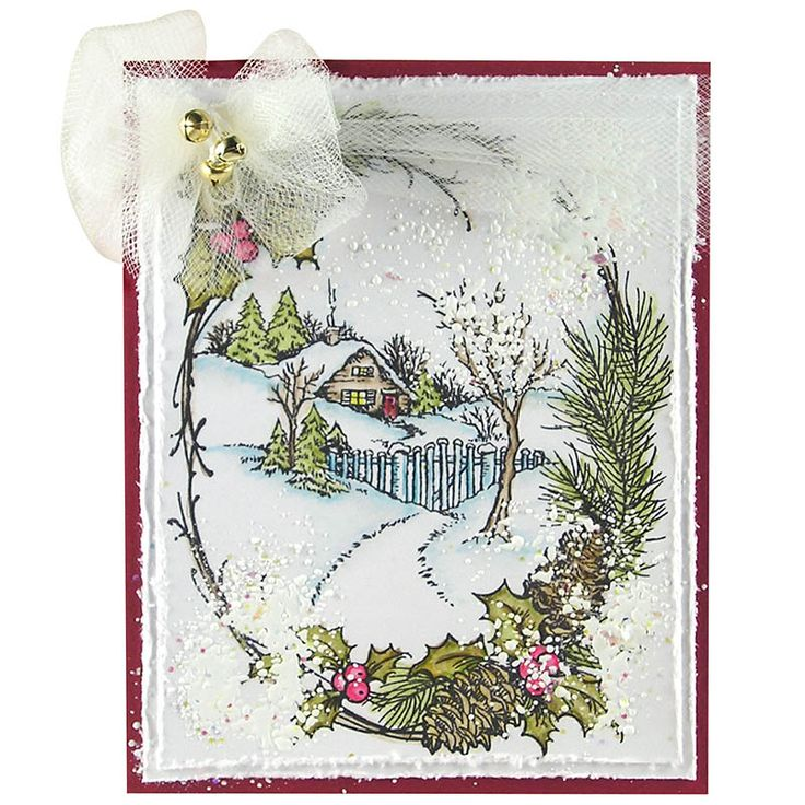 289 Best Cards: Christmas, Stampendous Images On Pinterest