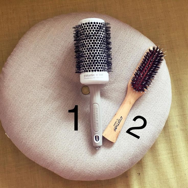 «1. This is the hair brush (Olivia Garden) that I use when I blow dry. You can get it in different sizes. I wrote the size down that I use. You can order…»