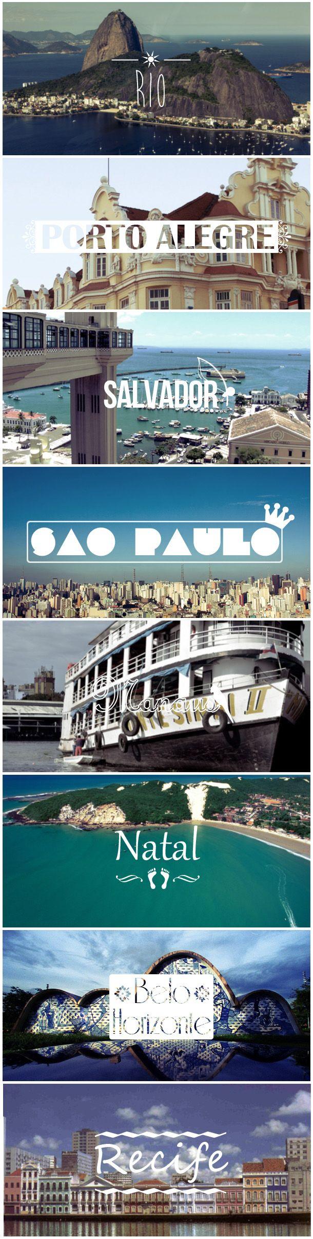 Quero conhecer <3 Brasil. Viajar é realizar sonhos, acreditar no surreal.