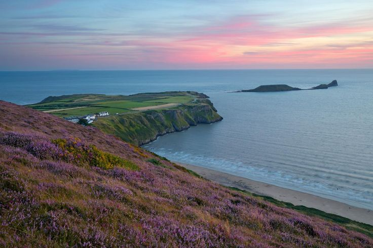 Península de Gower en Swansea