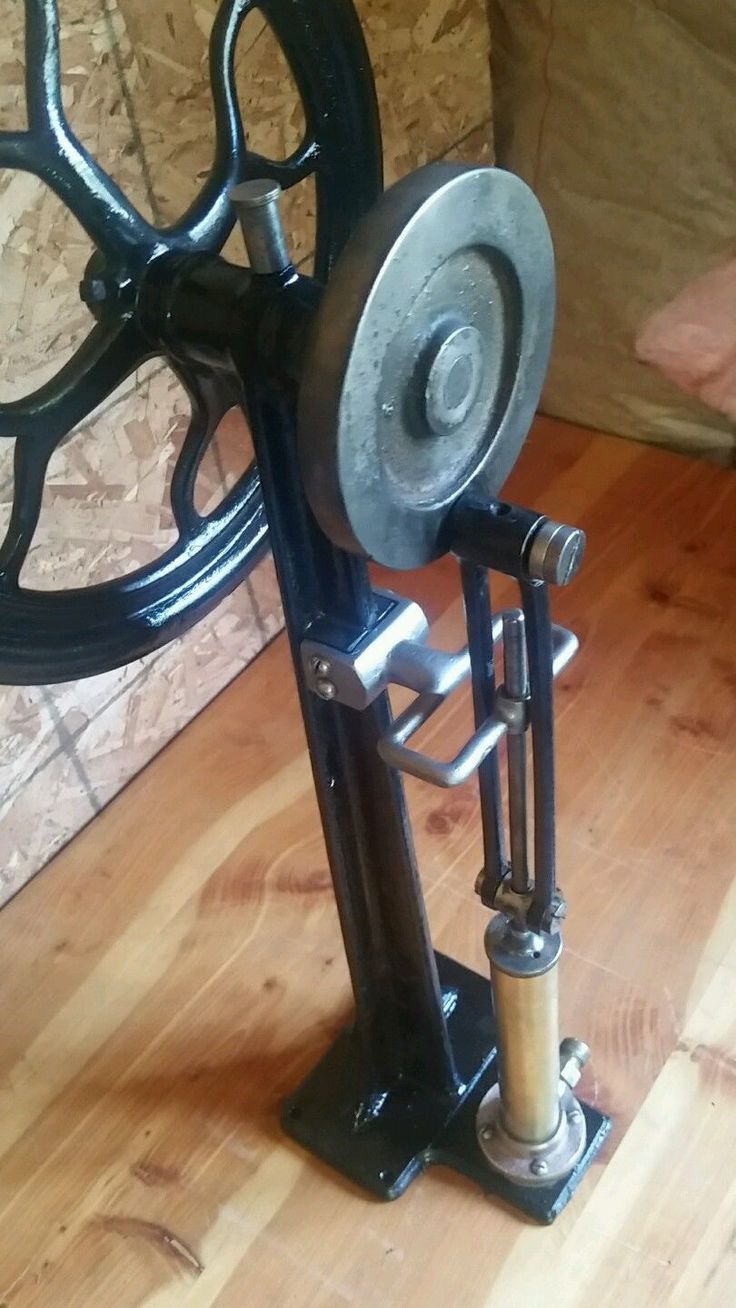 Antique Tire Air Compressor Medical Cast Iron Brass Steampunk Industrial Age | eBay