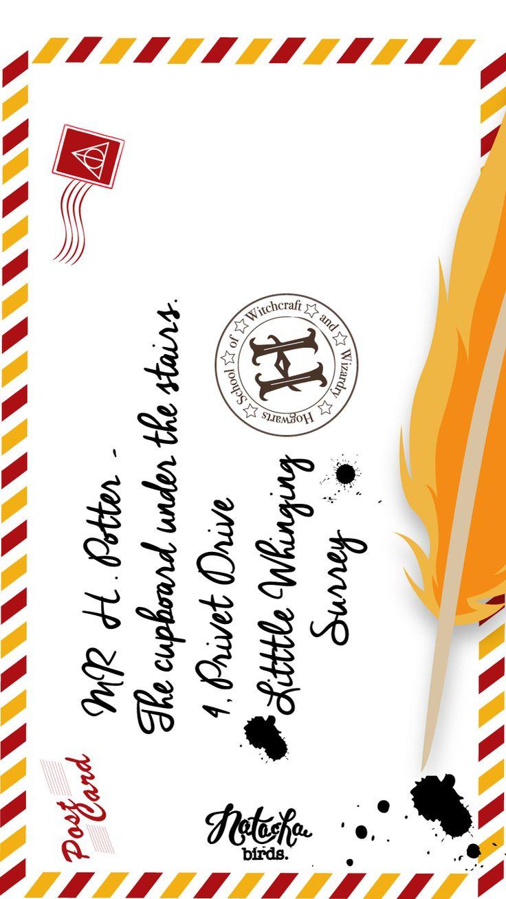 Fond Harry Potter Lettre