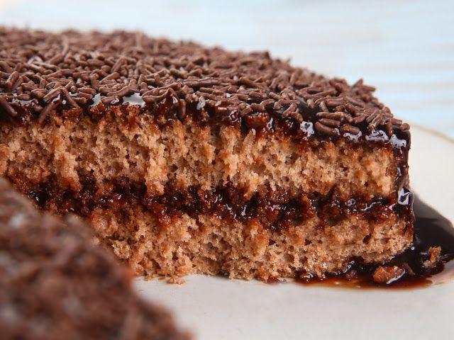 Sem Desperdício!: Dia de Cozinha: Bolo de Brigadeiro Zero Lactose
