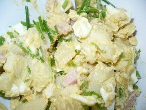 Bramborovo – vajíčkový salát
