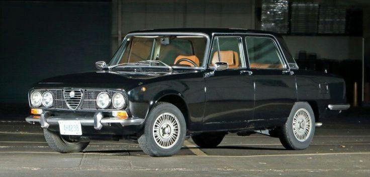 1973 Alfa Romeo 2000 Berlina.