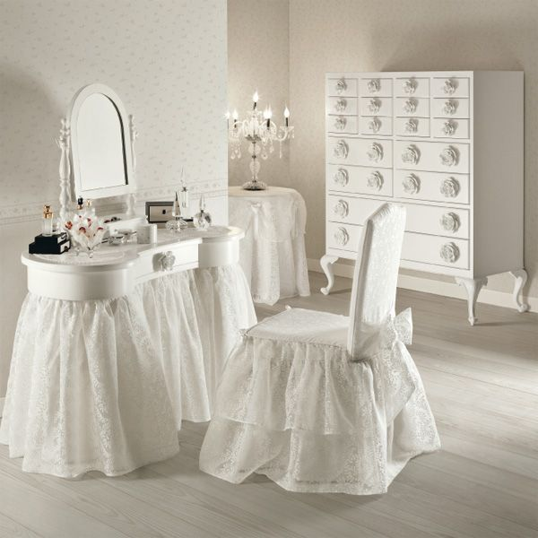 Wishmade my pretty vanity pinterest fundas para for Sillas para vanity