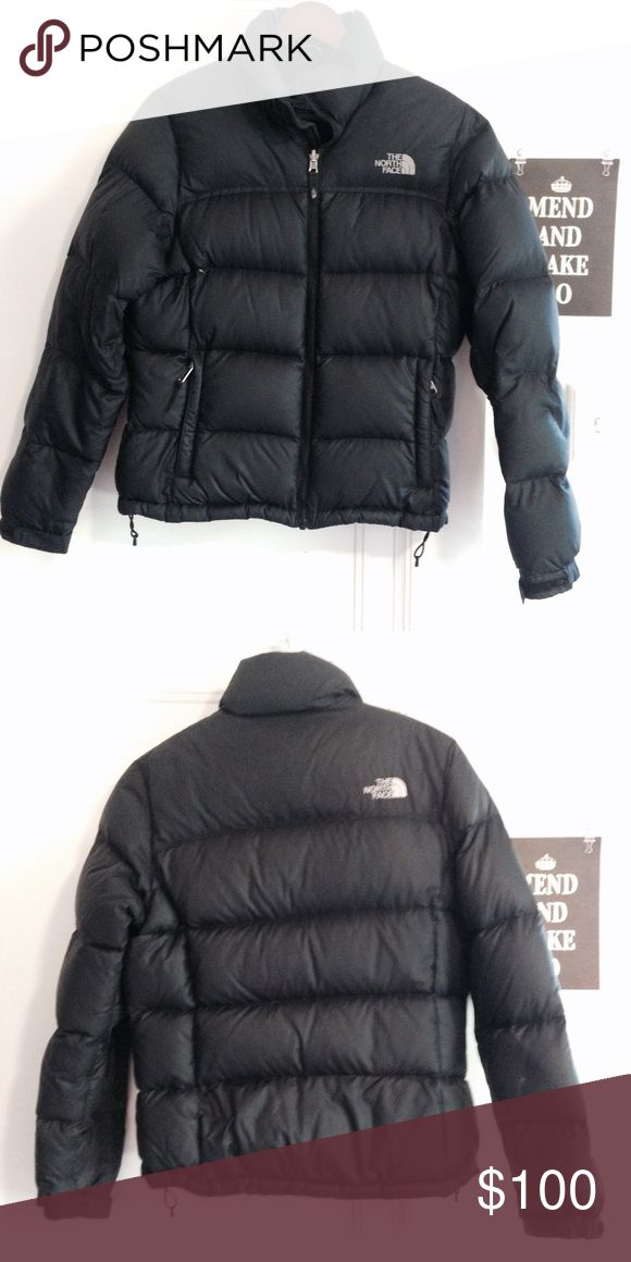 North Face Nuptse Jacket Classic North Face Nuptse down jacket crafted with ample 700-fill goose down and designed with a flattering fit. Will keep you warm all winter! Excellent used condition. Price is firm! North Face Jackets & Coats Puffers