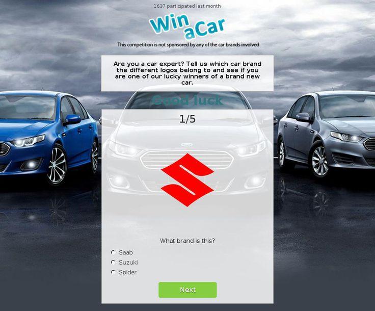 Win a New Car Malware Scam - http://www.mailshark.com.au/recent-security-news/win-a-new-car-malware-scam-22061